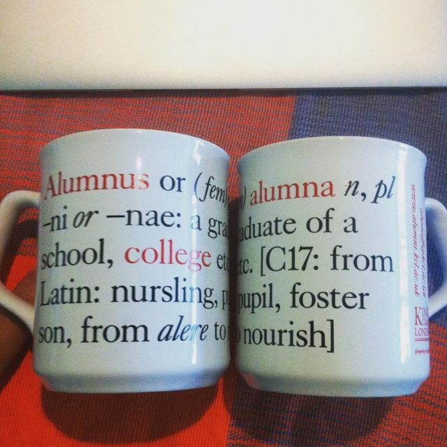 Image result for KCL alumni mug