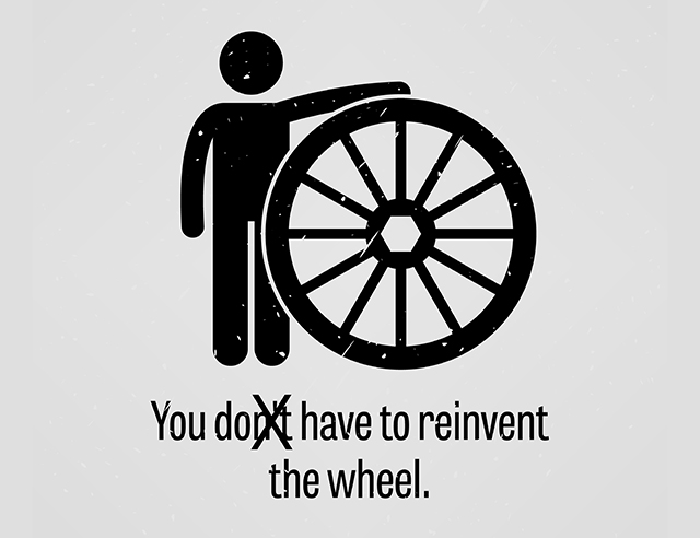 Image result for reinvent the wheel